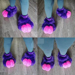 Rabbit Fullsuit Commission: The Feet