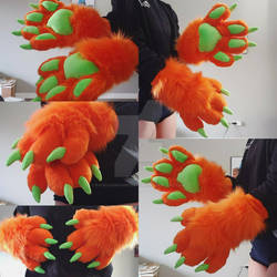 Handpaws Commission: T-Sol Tigers Hands