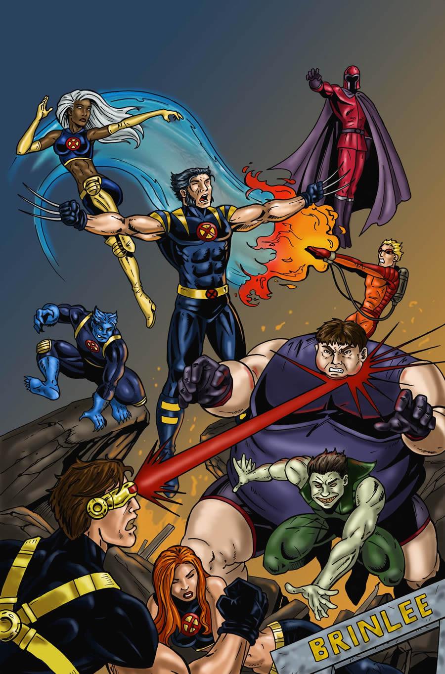 X Men Supreme Panel 4 By Slickboy444 On Deviantart