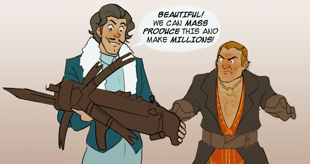 Varrick Varric by AeolianMode