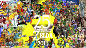 Legend of Zelda in 25 Years