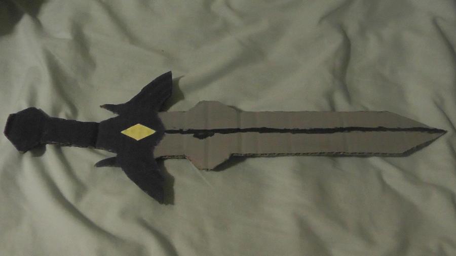 how to make a cool cardboard sword