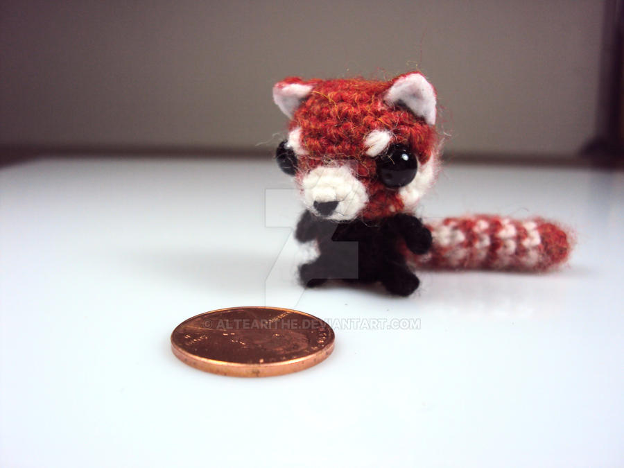 November Free Giveaway - Red Panda by altearithe