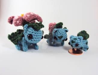 Commission - Bulbasaur Family