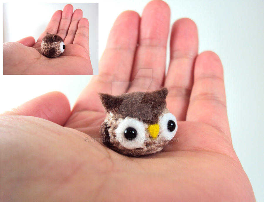 May Free Giveaway - Tiny Owl by altearithe