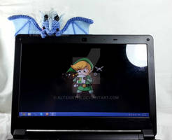Screen Dragon Big Blue