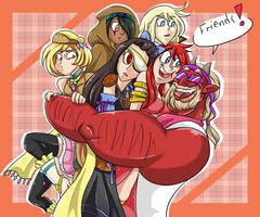 WT : FRIENDS!! by AmiyaEn