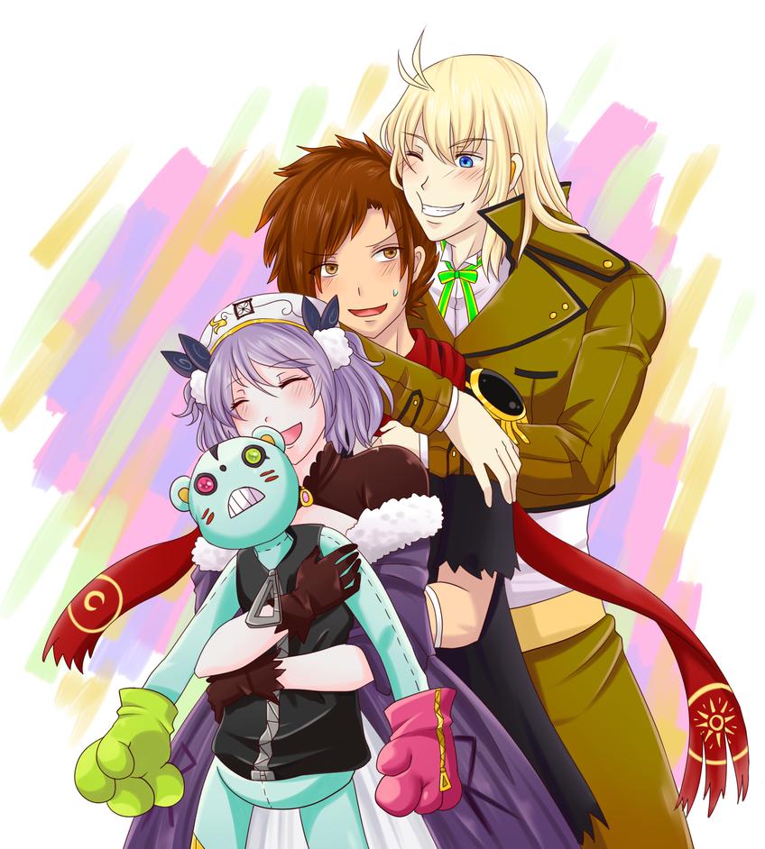 WT : Hug train by AmiyaEn
