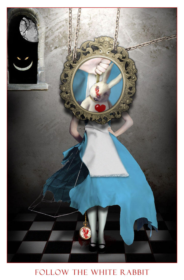 The White Rabbit by Aldana-Digital-Arts.deviantart.com on ...