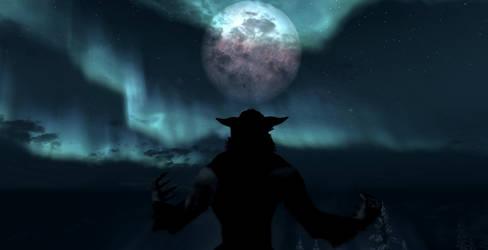 Howling Aurora by Shadow-Glassen