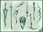 Sylvan Weapon Set