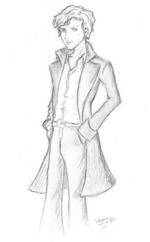Benedict and his Billowy Coat