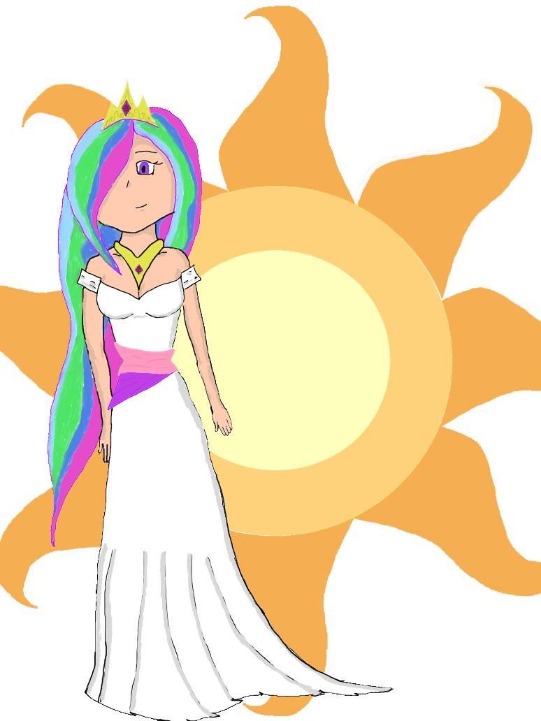 Fan Art: Princess Celestia by iamkoold