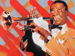 Portrait of Louis Armstrong