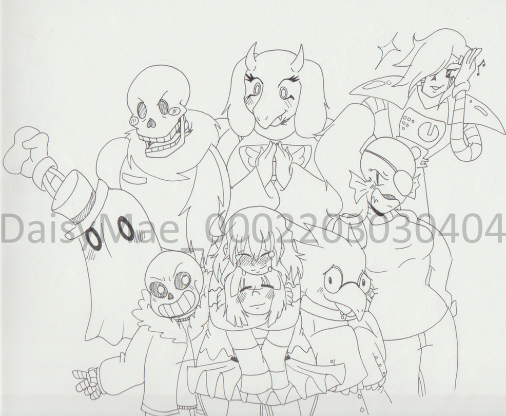 Undertale by MuseofLullabys