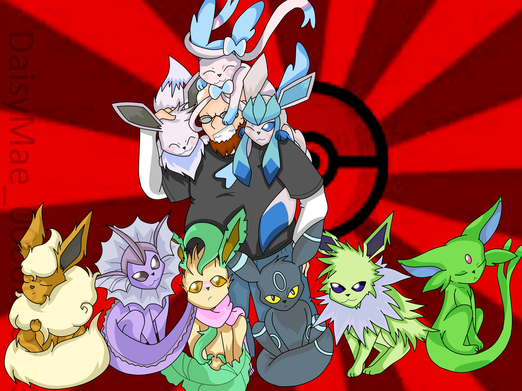 Eeveelution Commission by MuseofLullabys
