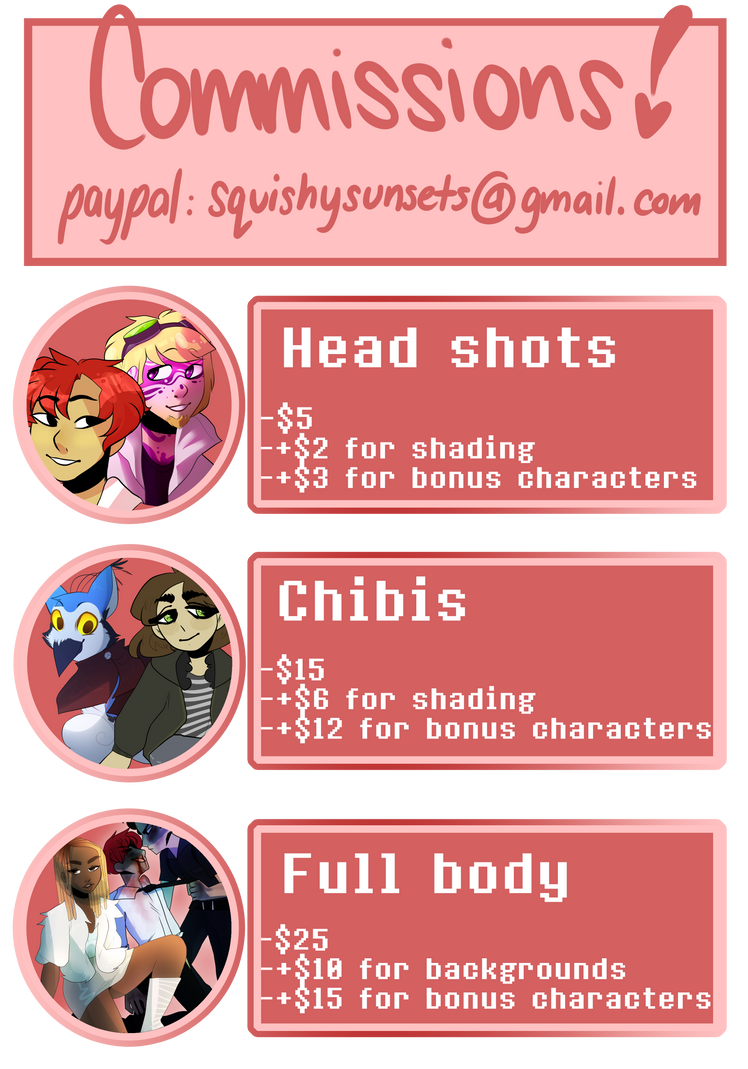 ~COMMISSION INFO~