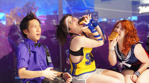 Dancers need to eat, too