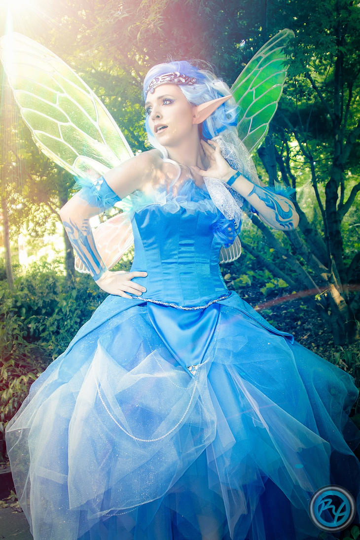 Come Fly With Me // Navi (Zelda) Cosplay by lelental
