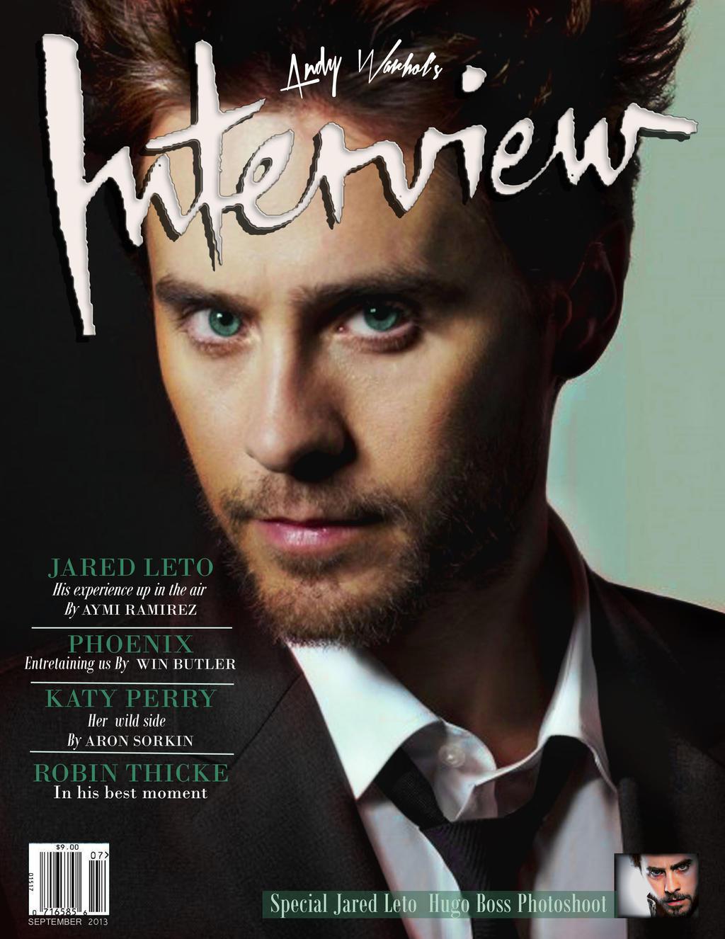 Interview magazine jar... Jared Leto Interview