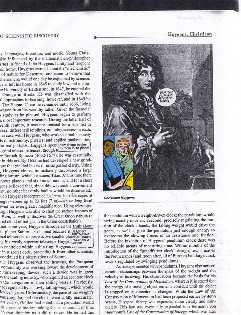 Superheroes-Christiaan Huygens by sumalangitnawa