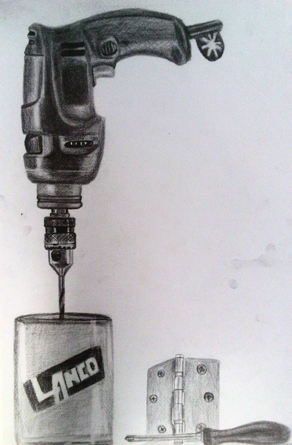 Imaginar que es objetos de cocina dibujo grafito by - Objetos de cocina ...