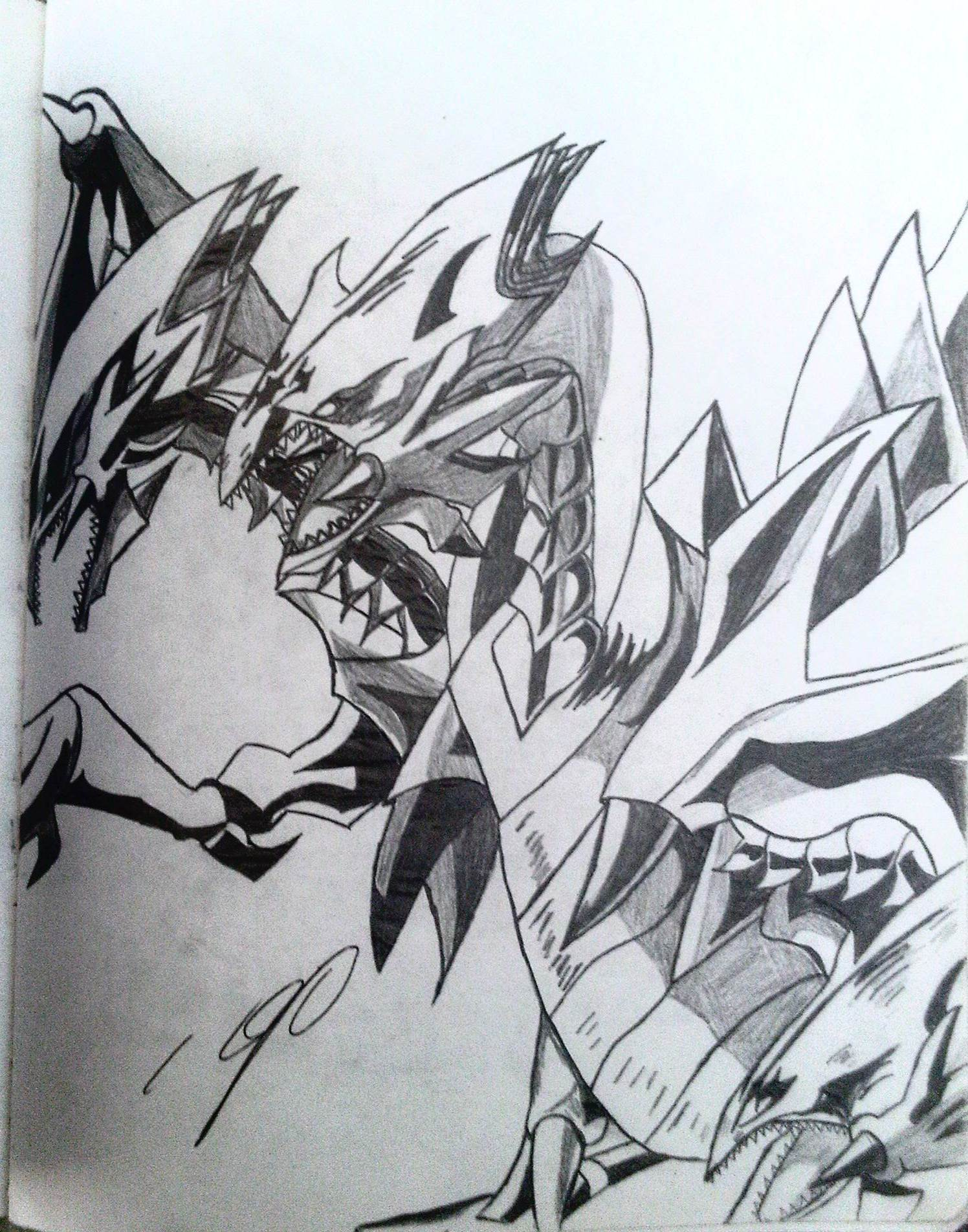 ultimate dragon drawing
