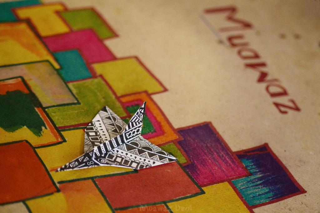 Origami Plane Doodle by muawazz