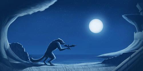 Moon Beast Remake by ElkiLG