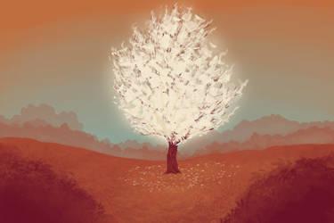 Mystic Tree by ElkiLG