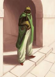 Moor Warrior by ElkiLG