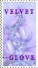 Velvet--Glove Stamp by ScorpionzDezignz