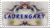 LaurenGary Stamp by ScorpionzDezignz