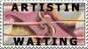 ArtistInWaiting Stamp by ScorpionzDezignz