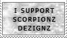 Support ScorpionzDezignz Stamp by ScorpionzDezignz