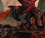 Balerion, the Black Dread by NapalmArsenal