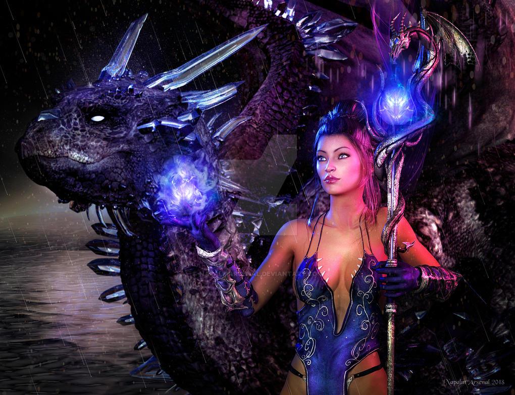 Hydra Witch by NapalmArsenal