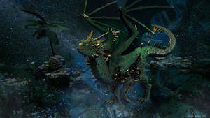 Marsh Dragon by NapalmArsenal