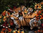 Tiggers by NapalmArsenal