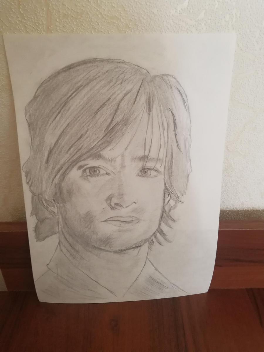Drawing Hugh Jackman