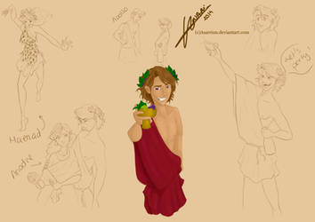 Dionysus by Asarrion