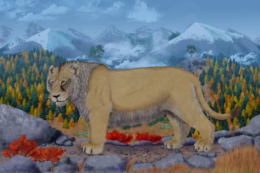 Bear-Eater on the Mount
