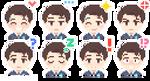 [F2U] D:BH Connor Emotes