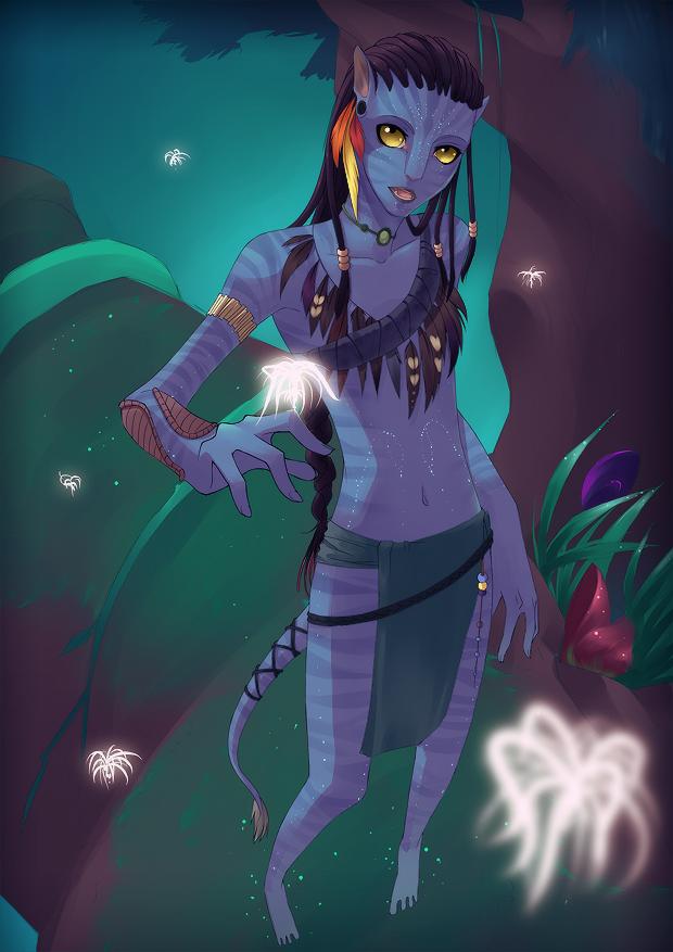 Avatar - Neytiri by Uberzers