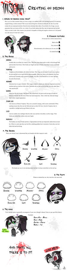 Creating an insona guide