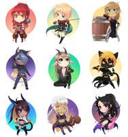 Chibi Commission Collection #1
