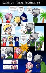 Naruto - Tribal Trouble. Pt 1