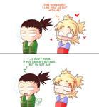 Shika's not gay...