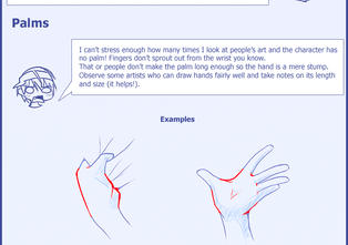 Az's Tips to Drawing Hands by Uberzers