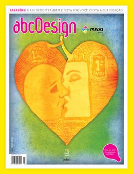 Capa para revista ABC Design